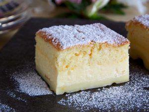 torta magica alla vaniglia con Bimby