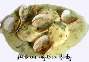 Patate con vongole con Bimby
