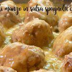 Polpette di manzo in salsa spagnola con bimby