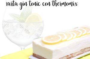 Gin e Tonic Cake con Bimby