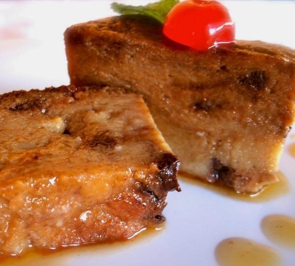 Pudding pane e vaniglia con il Bimby