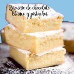 Brownies di cioccolato bianco e pistacchi nel Bimby