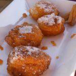 Frittelle di arancia con il Bimby