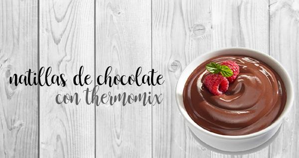 Crema pasticcera al cioccolato con il Bimby