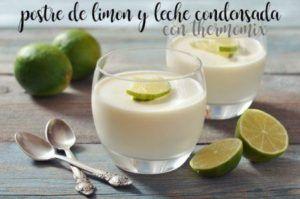 Dessert al limone e latte condensato con il Bimby