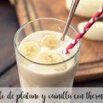 Gelato alla banana e alla vaniglia con il Bimby