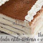 Torta surgelata stile contessa o viennetta con il Bimby