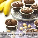Muffin al cioccolato e noci senza glutine brownie con il Bimby