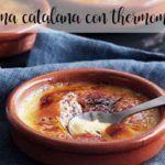 Crema catalana con il Bimby