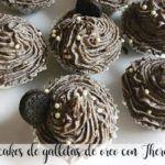 Cupcakes di biscotto Oreo con Bimby