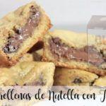 Biscotti ripieni di Nutella con Bimby