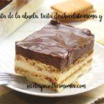 Torta di cioccolato e biscotto della nonna con termomix