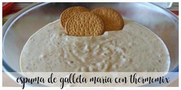 Foam Biscuit Maria con Bimby