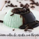 Panna Cotta alla Menta e Cioccolato con Bimby