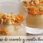 Mousse al caramello e vaniglia con Bimby
