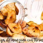 Chips di mele con Bimby