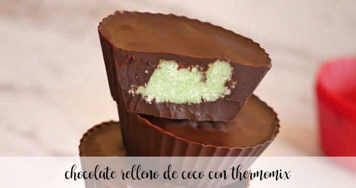 Cioccolato ripieno di cocco con Bimby