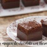 Torta al cioccolato magica con Bimby