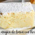Torta magica al limone con Bimby
