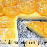 Facile torta all'arancia con Bimby