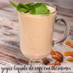 Yogurt liquido al caffè con Bimby
