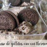 Mousse di biscotti Oreo con Bimby