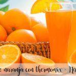 Succo d'arancia con Bimby - Arancia