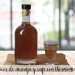 Liquore all'arancia e al caffè con Bimby