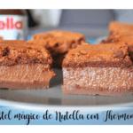Torta magica Nutella con Bimby