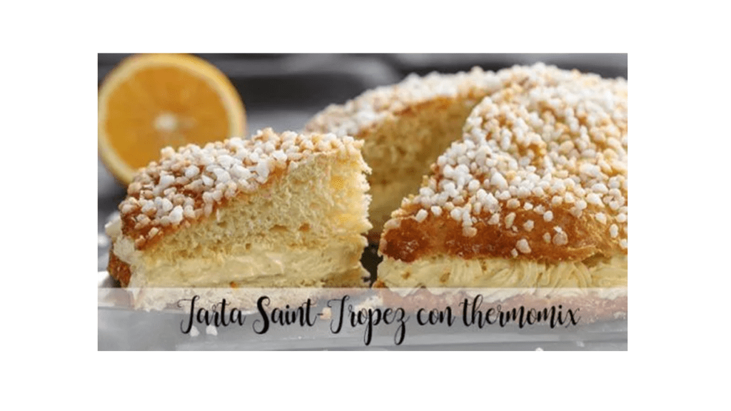 Torta Saint-Tropez con Bimby