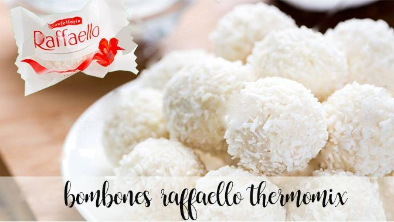 Ricetta Raffaello Wafer.Cioccolatini Raffaello Fatti In Casa Con Bimby Ricette Bimby