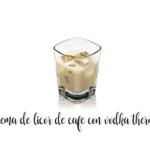Liquore al caffè con vodka con Bimby