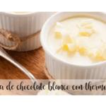 Crema al cioccolato bianco con Bimby