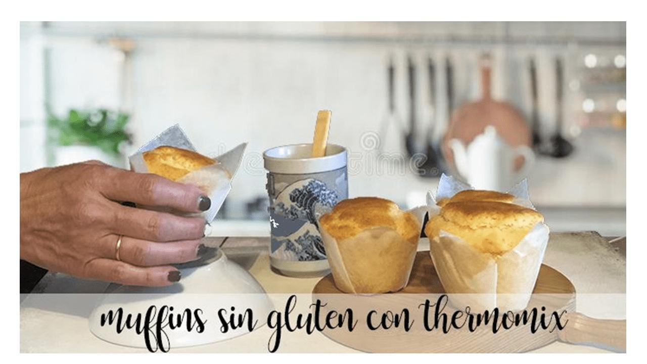 Muffin senza glutine con thermomix