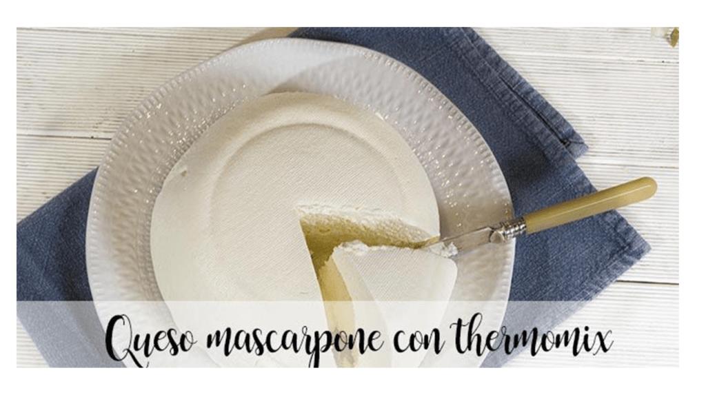 Mascarpone con Bimby