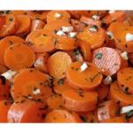 Ricetta marocchina dell'insalata di carote per la Bimby