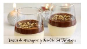 Mascarpone e tazze di cioccolato con Bimby