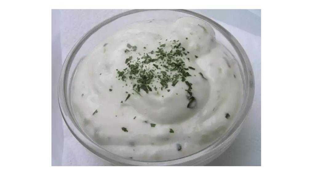 Ricetta di salsa allo yogurt con la Bimby