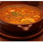 Ricetta della zuppa all'aglio con la Bimby