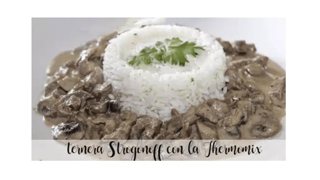 Ricetta di vitello Stroganoff con la Bimby