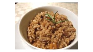 Ricetta del risotto ai funghi nella Bimby