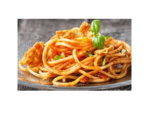 Spaghetti senza glutine con tonno e pomodoro per Bimby