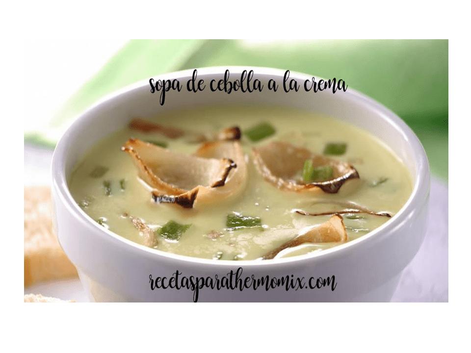 Zuppa di cipolle cremosa con Bimby