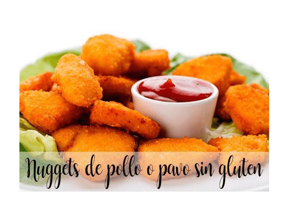 Bocconcini di pollo o tacchino senza glutine con Bimby