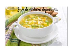 Zuppa di verdure purificante con Bimby (Fat Burner)