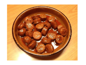 Salsiccia di sidro con Bimby