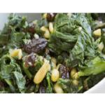 Ricetta di spinaci con uvetta a Bimby