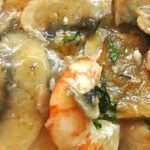 Ricetta funghi con gamberetti al Bimby