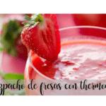 Gazpacho alla fragola con Bimby