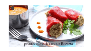 Peperoni ripieni di carne con thermomix